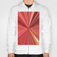 524 - Abstract reds design Hoody