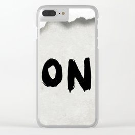 Don't (Paper Version) Clear iPhone Case