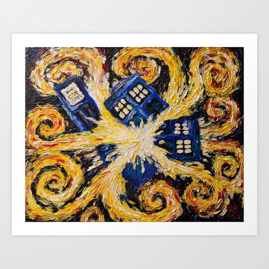 tardis art exploding - photo #17