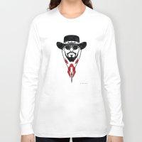 django Long Sleeve T-shirts featuring Iconic Django by Arne AKA Ratscape