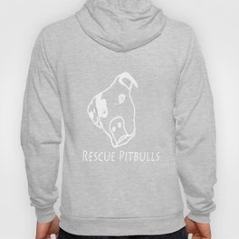 Rescue Pitbulls Logo Hoody