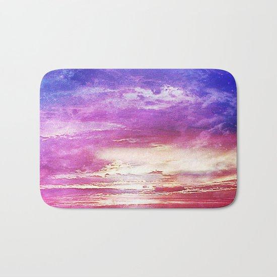 Sunset skies Bath Mat