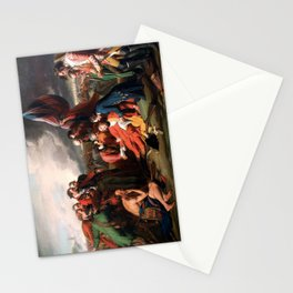 Death of General Wolfe, Benjamin West, 1770 Stationery Cards