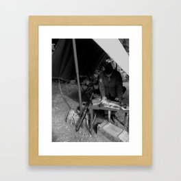 In the Field Framed Art Print