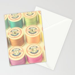 Cotton reels Stationery Cards