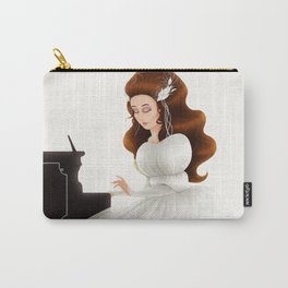 Liesl in Labyrinth Carry-All Pouch