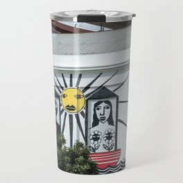 Decorated wall Lisbon Travel Mug