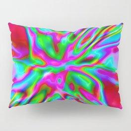 Red Foil Radiance Pillow Sham