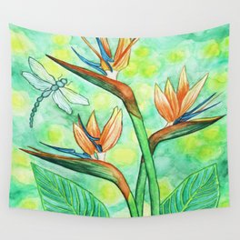 Bird-of-Paradise Wall Tapestry