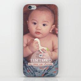 Tim iPhone Skin