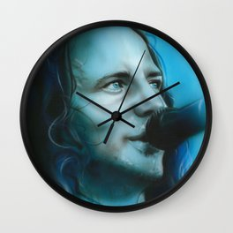 'Arms Raised in a V' Wall Clock