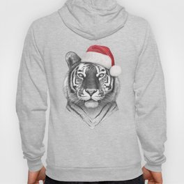 Christmas Tiger Hoody