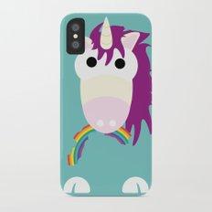 Minimal Unicorn Blue Slim Case iPhone X