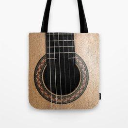 Classic Guitar Tote Bag
