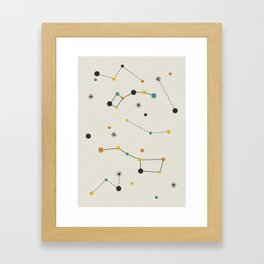 Ursa Major & Ursa Minor Framed Art Print