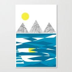 At the sea Canvas Print