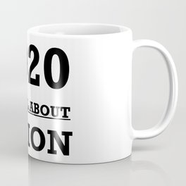 2020 Its All About Vision Eye Chart Coffee Mug