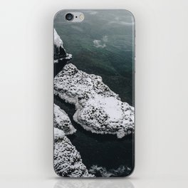 Frozen on the Lake iPhone Skin