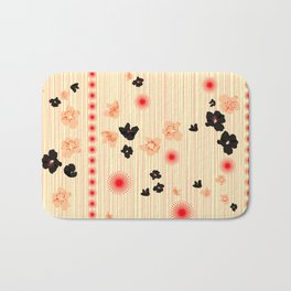 spotted blooms Bath Mat