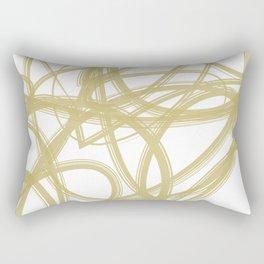 Color Madness 2 (Gold) Rectangular Pillow