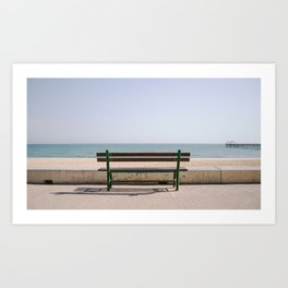 Sit down, relax. Art Print