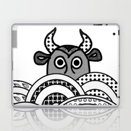 the bull in the clouds Laptop & iPad Skin