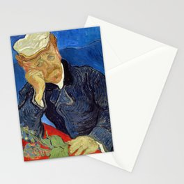Vincent Van Gogh - Portrait of Dr Gachet Stationery Cards