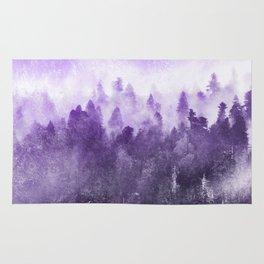 Ultra Violet Adventure Forest Rug