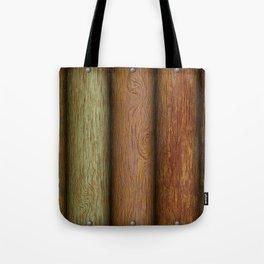 Realistic wood texture Tote Bag