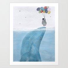 uplifting Art Print