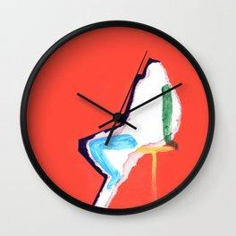 sitting figure Wall Clock