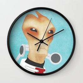 Sur'kesh - Mass Effect Wall Clock