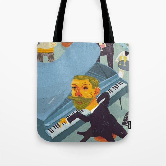 Amundsen's party Tote Bag