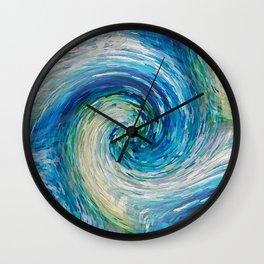 Wave to Van Gogh III Wall Clock