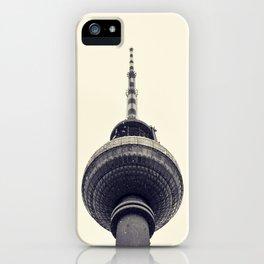 Berliner Fernsehturm iPhone Case