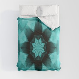Teal Starry Starry Night.... Comforters