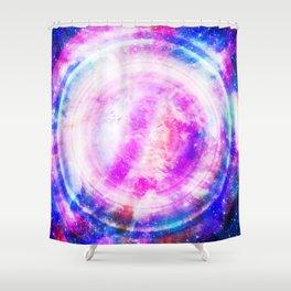 Galaxy Redux Shower Curtain