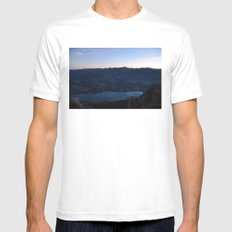 The Moment Before White Mens Fitted Tee MEDIUM