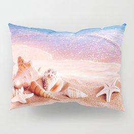 On the beach Pillow Sham