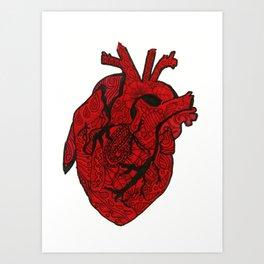 Heart Still Whole Art Print