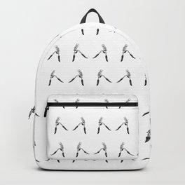 Eyelash Curler Pattern Backpack