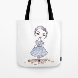 Vintage Gal ~ Nora Finds Tote Bag