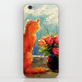 Spring has come iPhone Skin