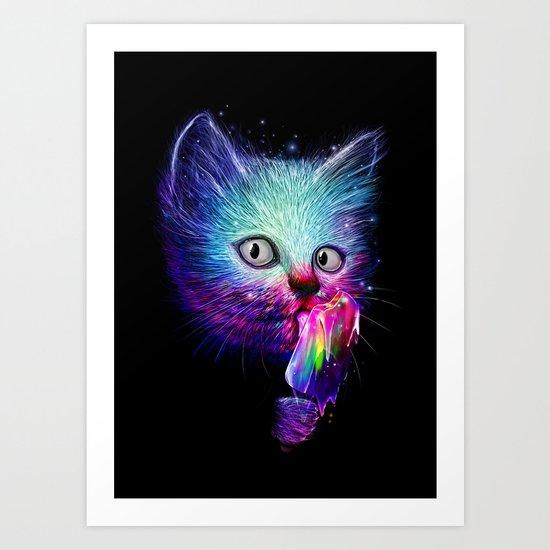Slurp! Art Print