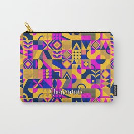 SQUARES MULTICOLOR Carry-All Pouch