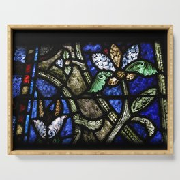 St. Denis Stained Glass 1 Serving Tray