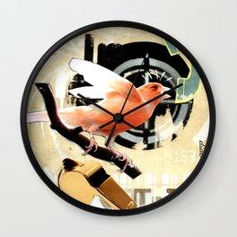 COLLAGE: Tweet Wall Clock