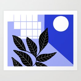 Moon Mood Art Print