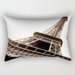 Eiffel Tower Material Rectangular Pillow