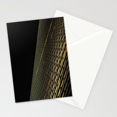 Night Building Facade Stationery Cards